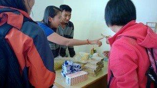 文具捐贈 尼泊爾