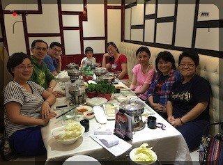 文具捐贈 2015年7月上海志工 分包文具