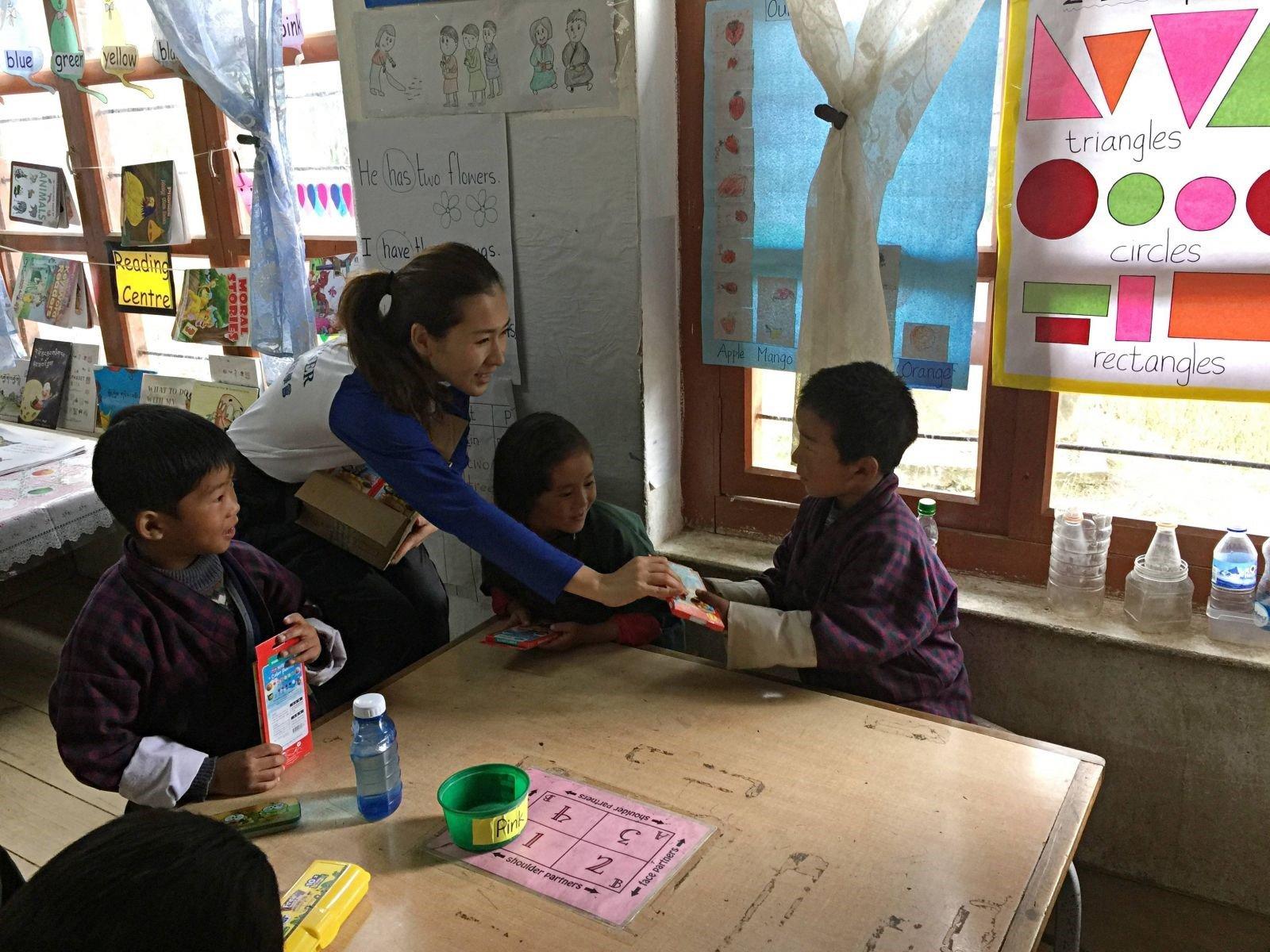 2018年 不丹助學 – 志工分享 1