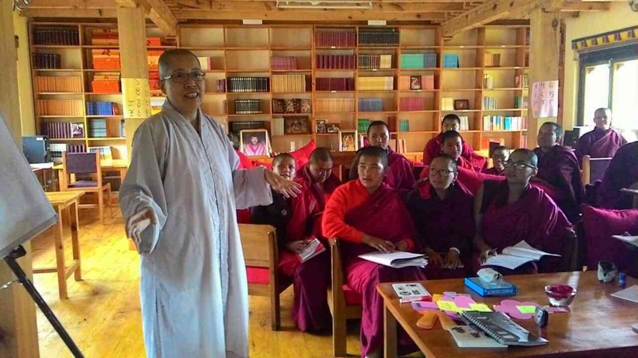 不丹偏鄉教學之行(一)雪樂秋林尼寺佛學院