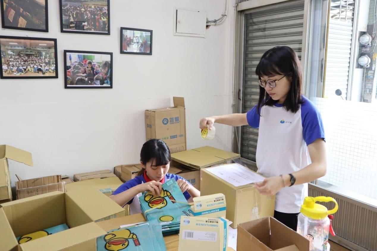 文具助學項目:持續關懷有需要的學校