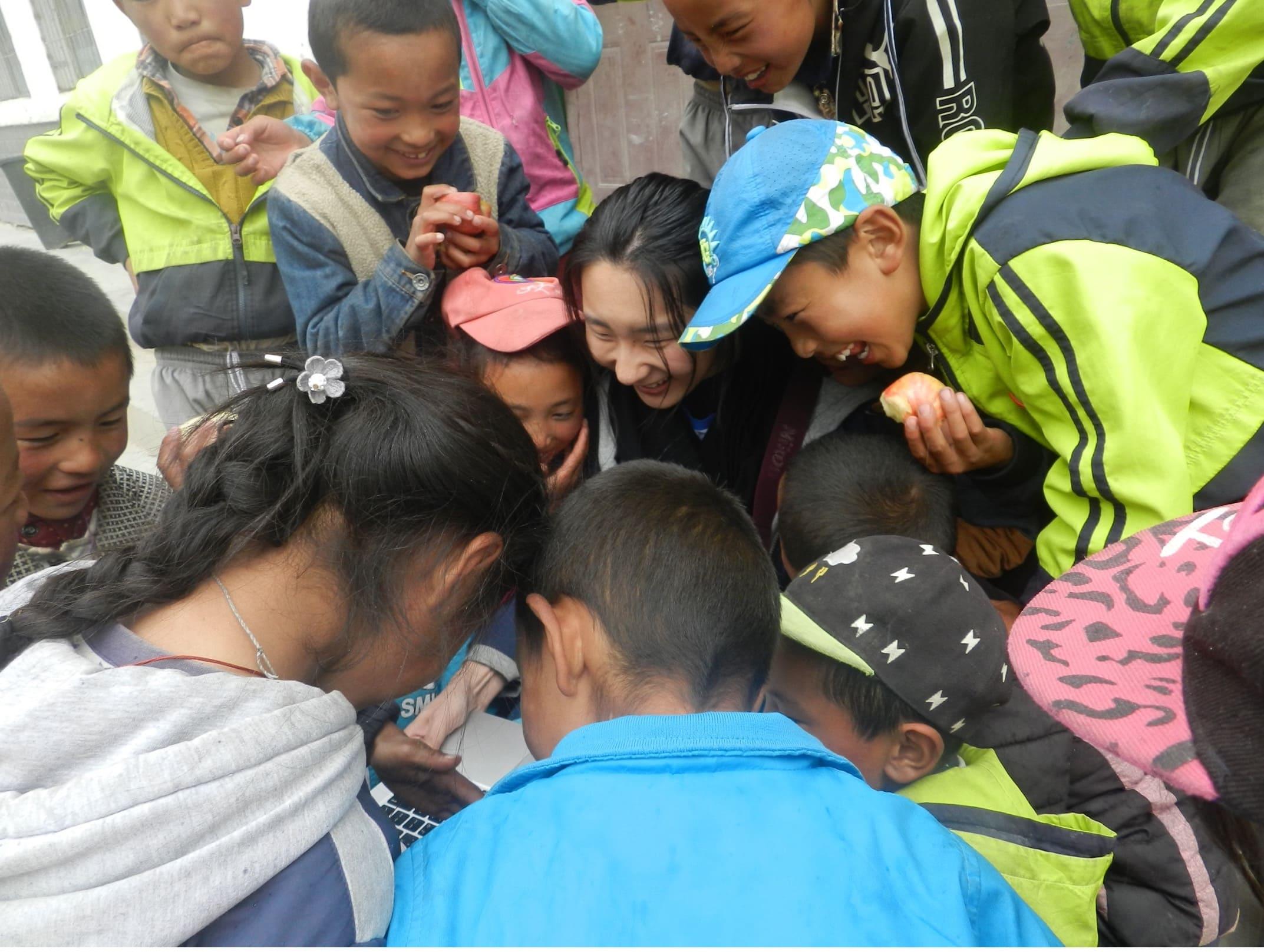 最難忘的志工服務—覺拉小學