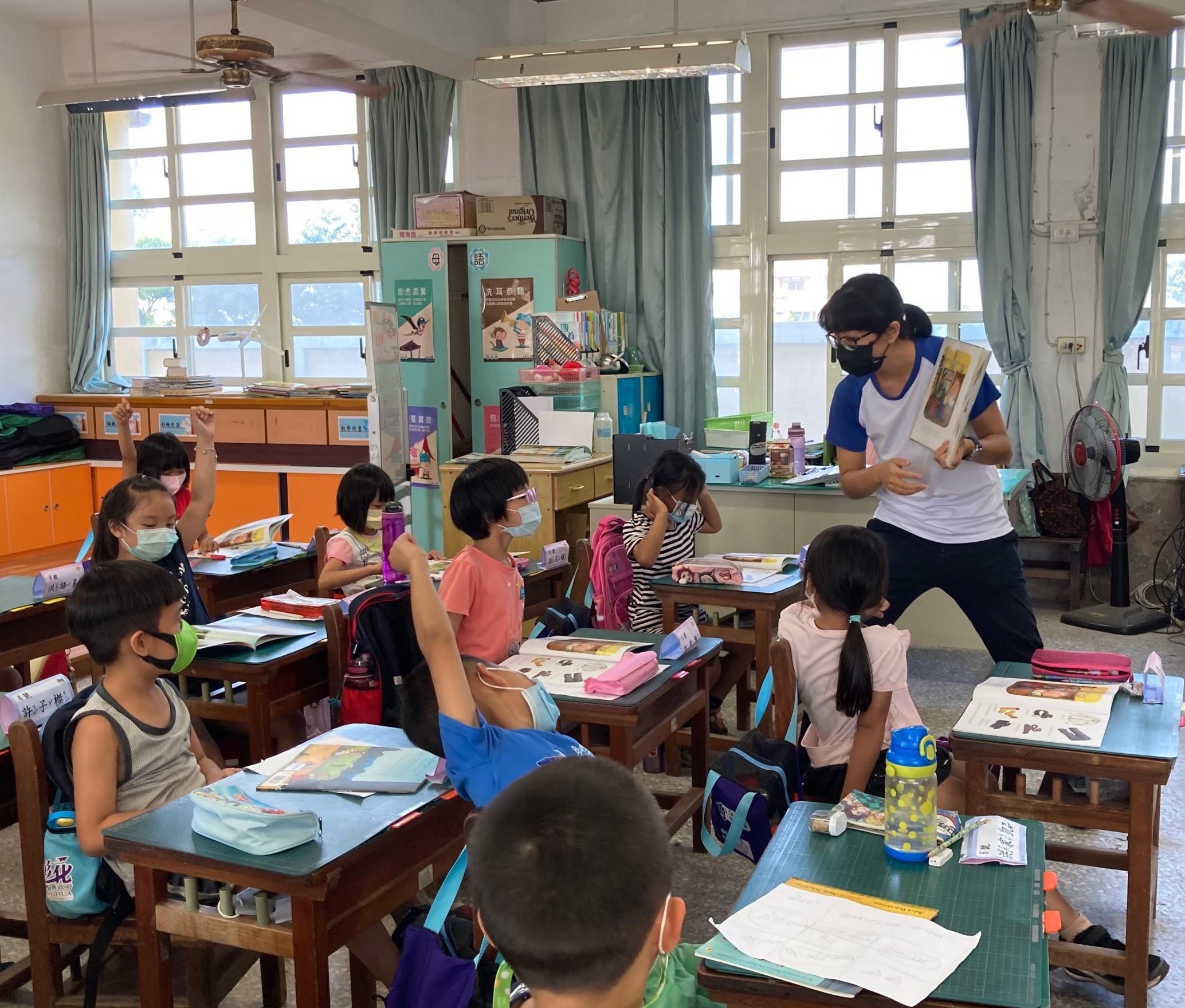 多元 助學 項目-後寮國小的第一堂課